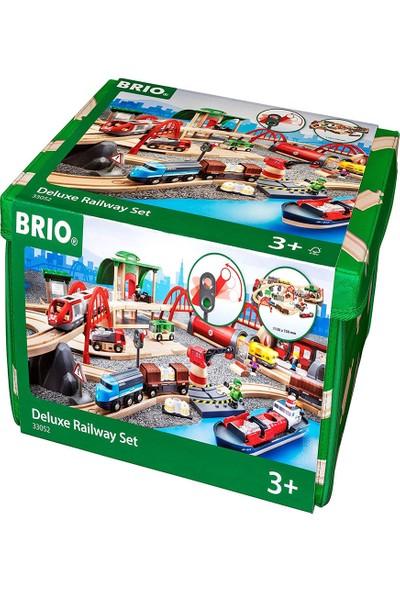Brio Delüx Tren Yolu Seti 33052