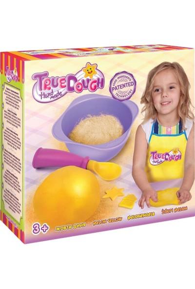 True Dough Organik Oyun Hamuru Sarı Tekli Paket 21015