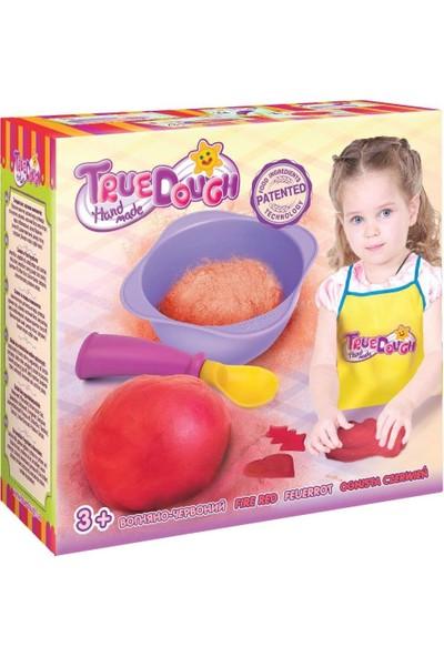 True Dough Organik Oyun Hamuru Kırmızı Tekli Paket 21013