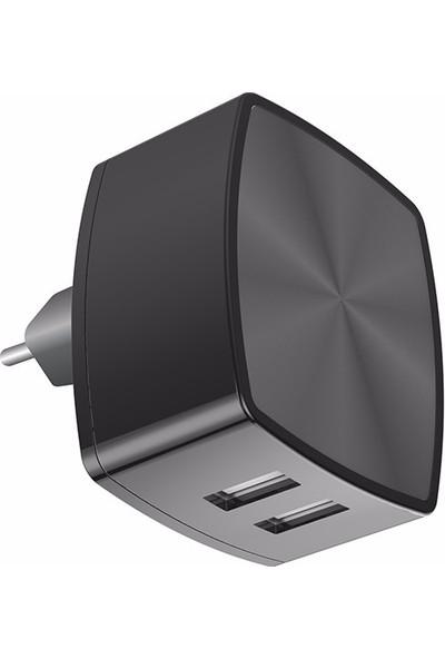 İxtech 2-USB Akıllı Hızlı Şarj Cihazı