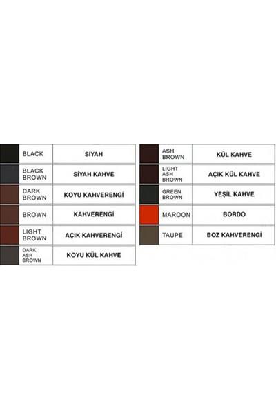 Ymr Microblading Boyası Siyah Kahverengi (Black Brown)