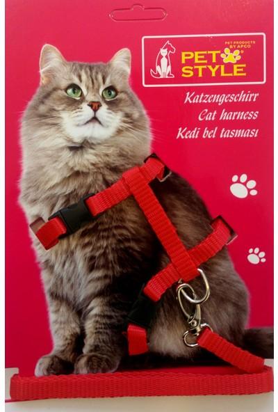 Petstyle Kedi Göğüs Bel Tasması