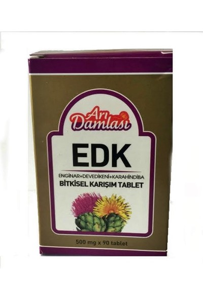 Arı Damlası Edk Enginar Devedikeni Karahindiba 90 Tablet