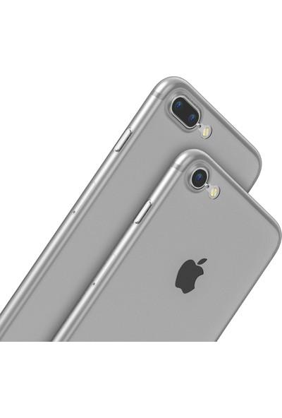Baseus Apple iPhone 8 Şeffaf Silikon Kılıf + Ekran Koruyucu