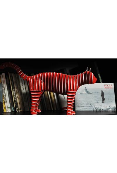 3D Hayvan Serisi Puzzle-Kedi