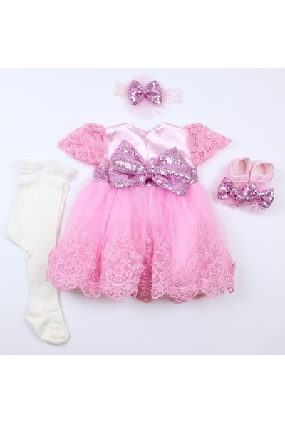 Pegu Pugi Bgo2 Pembe Bebek Özel Gün Elbisesi