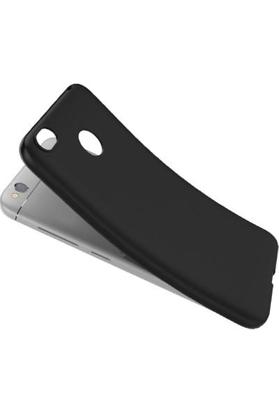 Microcase Xiaomi Redmi Note 5A Prime Elektrocase Silikon TPU Kılıf + Tempered Cam