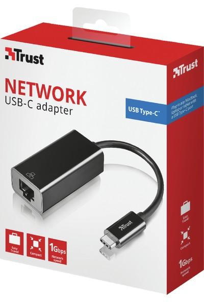 Trust 21491 Usb-C To Ethernet Adaptör