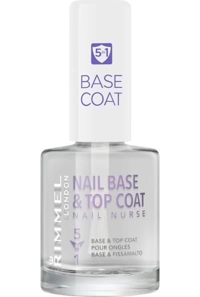 Rimmel London Nail Nurse Base & Top Coat 5