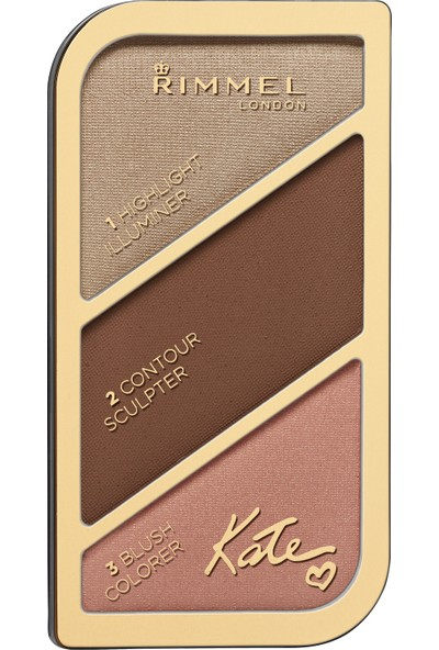 Rimmel London Kate Sculpting & Aydınlatıcı Kit Golden Bronzer