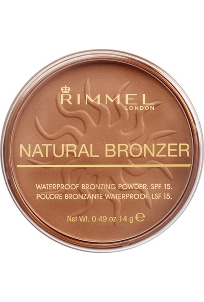 Rimmel London Natural Bronzer - Sun Bronze
