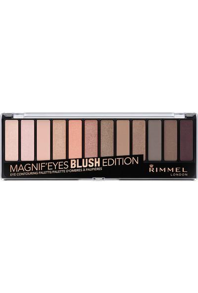 Rimmel London Magnif'Eyes Far Paleti 12'li Blush Edition