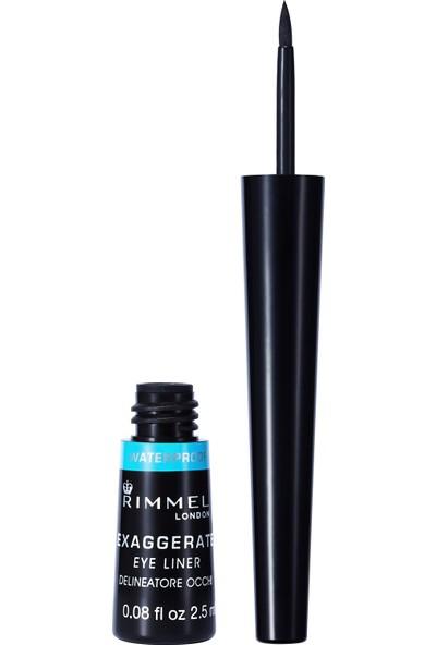 Rimmel London Exaggerate Waterproof Eyeliner 003 Siyah