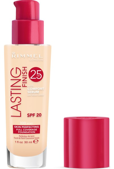 Rimmel London Lasting Finish Fondöten 100 Ivory