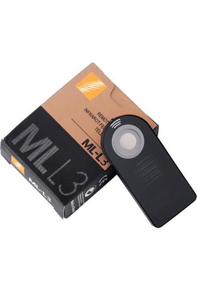 Nikon Ir Kablosuz Uzaktan Kumanda Ml-l3 Mll3 - D5200 D5300 D5500 D5600 D7000 D7100
