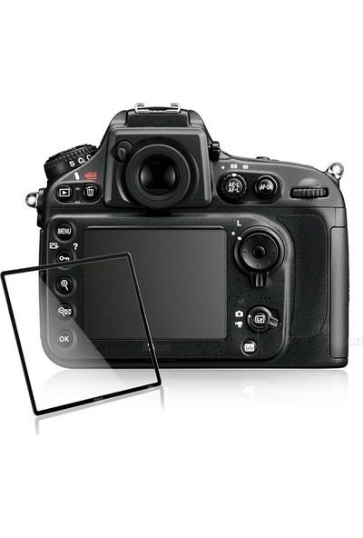 Nikon D7200 için Slim İnce HD Pro.Optical Glass Ekran Koruyucu Cam 0,3mm + Islak ve Kuru Temizleme kiti