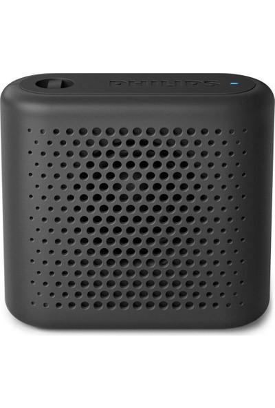 Philips BT55B/00 Taşınabilir Kablosuz Bluetooth Hoparlör Siyah