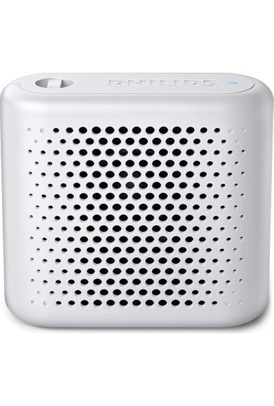 Philips BT55W/00 Taşınabilir Kablosuz Bluetooth Hoparlör Beyaz