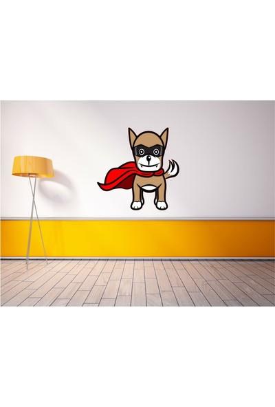 Lucky Wall Sticker Süper Köpek Duvar Sticker