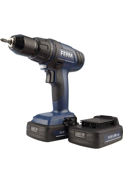 Ferm Professional Cdm1121P Çift Akülü Lı-Ion Matkap 14.4V - 2Ah