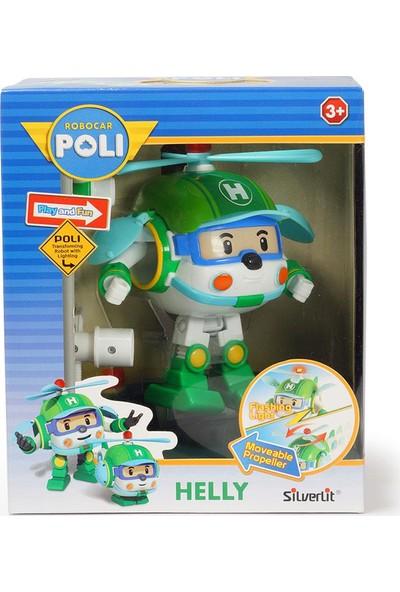 Robocar Poli Işıklı Transformers Robot Figür - Helly