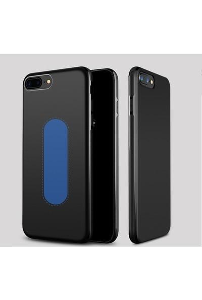 Vendas iPhone 7 Siyah Silikon Kılıf + Mıknatıslı Telefon Tutucu
