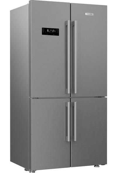Grundig GQN 10620 X A++ 626 lt No-Frost Buzdolabı