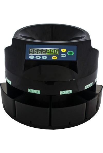Bill Counter Silver-650 Hızlı Sorter Madeni Bozuk Para Sayma ve Ayrıştırma Makinesi