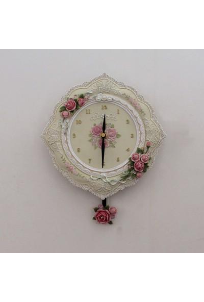 Ultima Regal El İşi Boyama Antik Saat