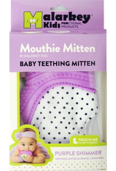 Mouthie Mitten - Mor Düşmeyen Diş Kaşıyıcı Eldiven