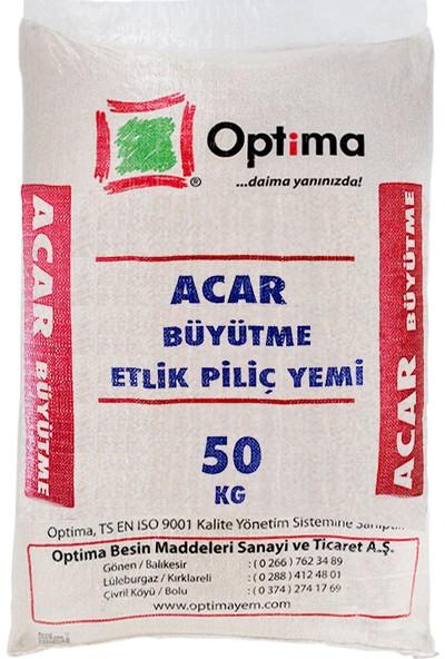 Optima Büyütme Etlik Civciv ve Piliç Yemi 50 kg (Granül veya Pelet)