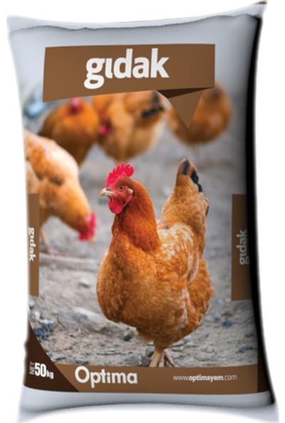 Optima Gıdak Yumurta Tavuğu Yemi 50 kg (Granül veya Pelet)