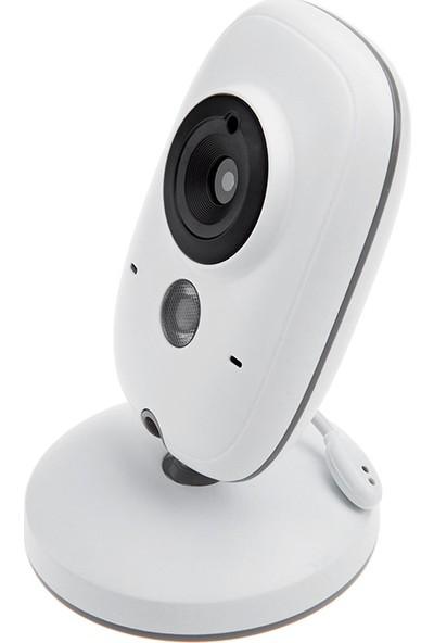 Kingfit Vb603 Baby Monitor - Gece Görüşlü Oda Sıcaklığı Kontrollü Bebek Video Kamerası