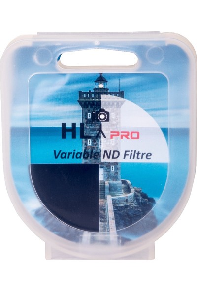 HLYPRO 55mm ND Variable 2-4 Stop Filtre