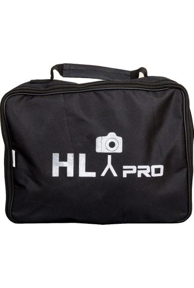 HLYPRO 40x40 Tepe Flaşı Adaptörlü Softbox