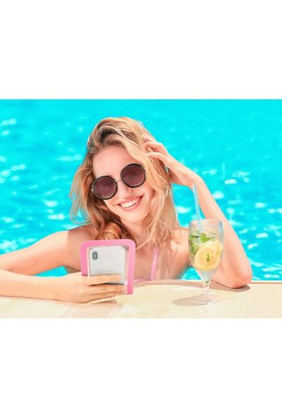 Spigen Universal (Tüm Cihazlarla Uyumlu) IPX8 Sertifikalı Su Geçirmez Kılıf Pink - 000EM23355