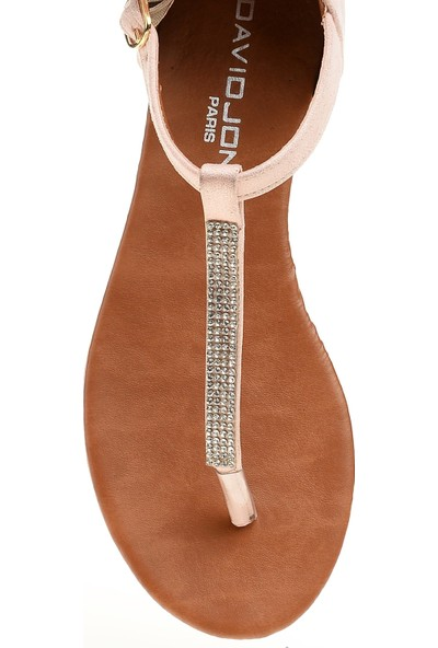 David Jones Kadın Parmak Arası Sandalet Pembe