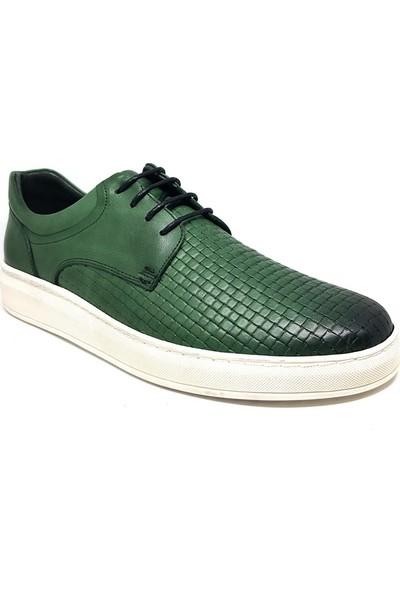 Shop And Shoes 093-4447 Erkek Ayakkabı Yeşil