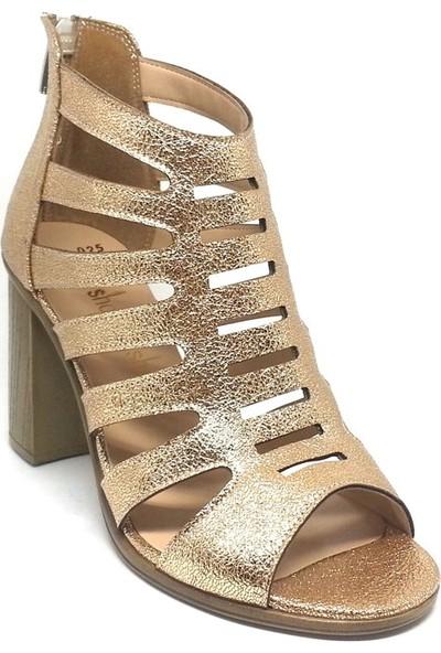 Shop And Shoes 031-1636 Kadın Ayakkabı Altın