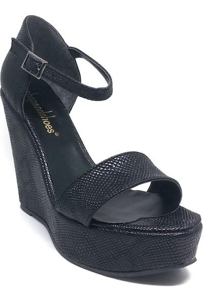 Shop And Shoes 173-1523 Kadın Ayakkabı Siyah