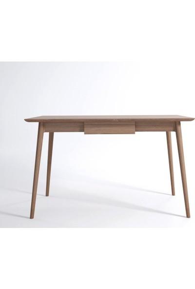 Woodha Masif Meşe Çalışma Masası Bud