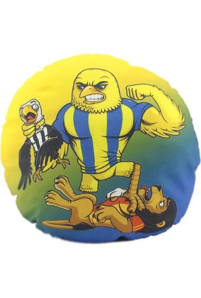 Mabella Fenerbahçe Emoji Yastık