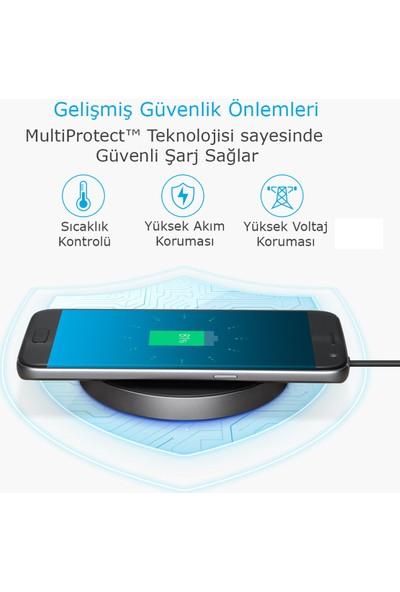 Anker PowerTouch 10 10W Kablosuz Hızlı Şarj Cihazı - 0.9m USB-C Kablolu (QI Sertifikalı Tüm Cihazlar ile Uyumlu) - A2512H11 OFP