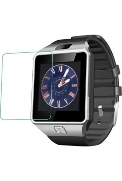 Case 4U DZ09 Akıllı Saat Çizilmeye Dayanıklı Ekran Koruyucu