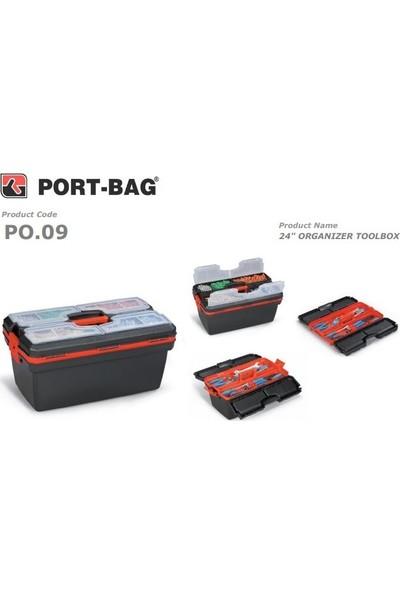 Port-Bag 24 No (Po09) Siyah Takım Çantası (1 Adet)