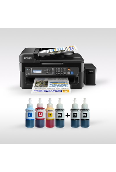 Epson L565 Photoink Mürekkepli 4 Renk Bitmeyen Kartuşlu İthalatçı Garantili