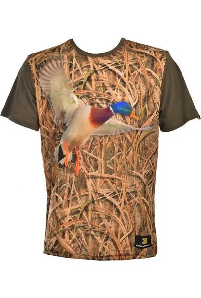 Guntack Ördek Temalı Kısa Kollu Erkek T-Shirt