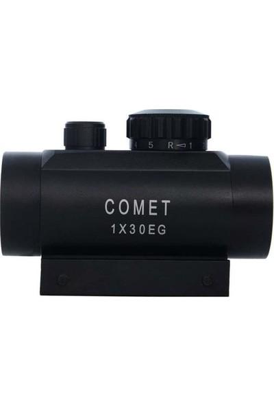 Comet RD001 1X30EG Kırmızı-Yeşil Işıklı Red-Dot