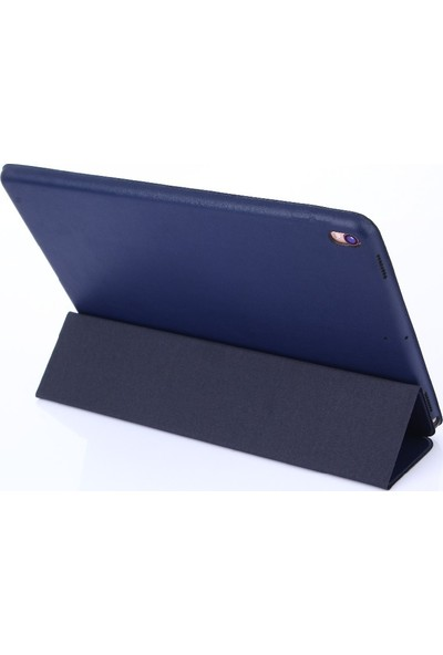 CresCent iPad Pro 9.7 İnner Soft Lux Deri Smart Case Tablet Kılıfı (A1673/A1674/A1675)