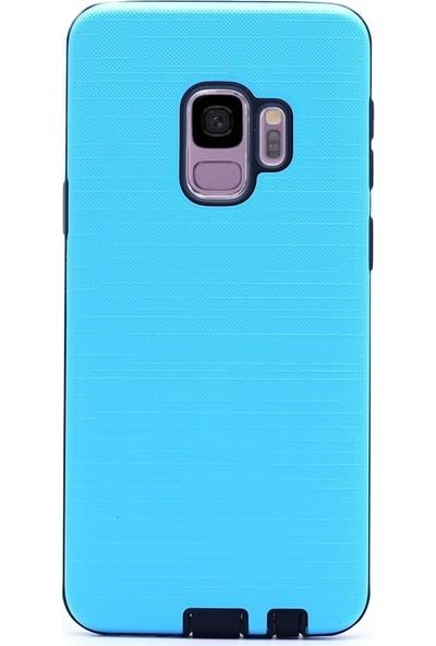 KılıfShop Samsung Galaxy S9 Plus Youyou Mika Kılıf - Mavi